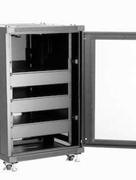 MW Products 18 Space Preconfigured Rack