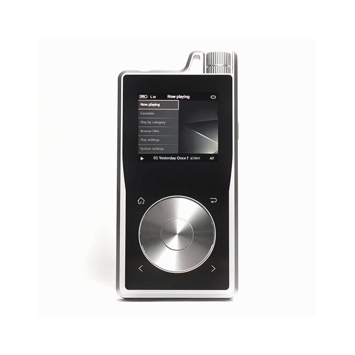 Questyle Audio QP1R Reference Digital Audio Player, Space Grey