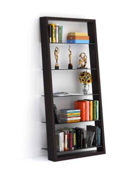 BDI Eileen 5156 Leaning shelf (Grey tinted glass shelves)