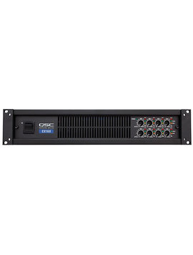 QSC 8-Channel 70 Volt Power Amplifier (2 Rack Units)