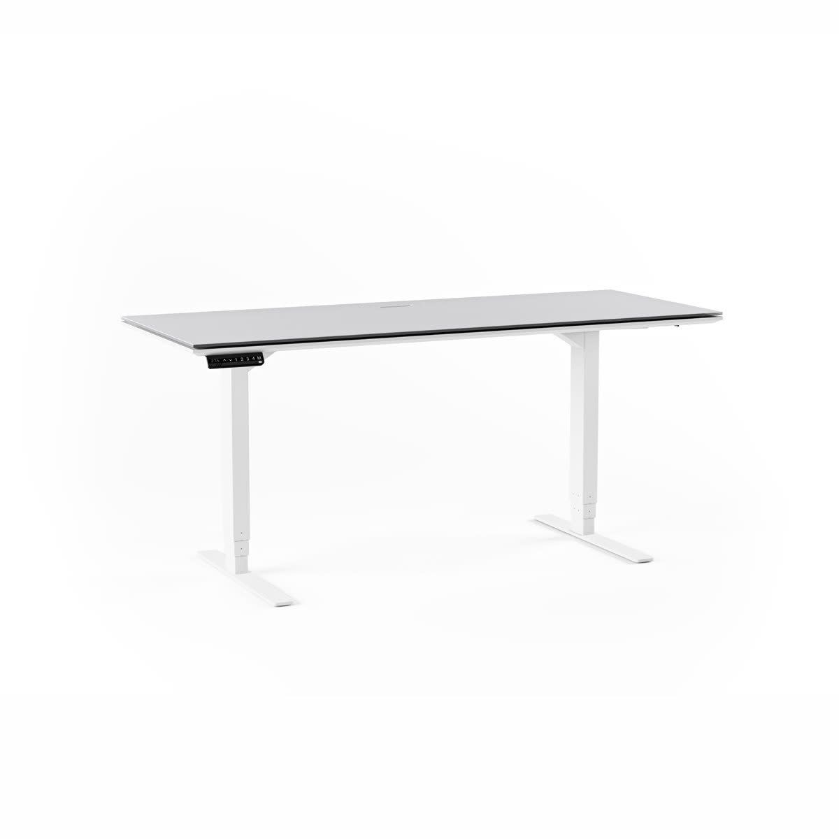 "BDI Centro 6451 Lift Desk ( 66"" x 24"" top )"
