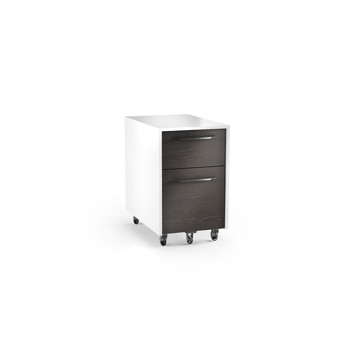 BDI Format 6307 Two-drawer Mobile File Pedestal