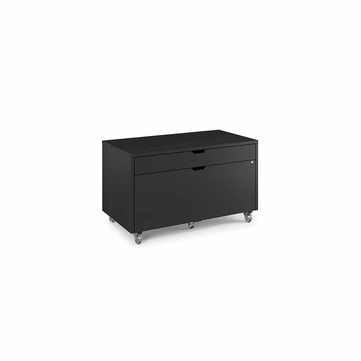 BDI Modica 6347 Mobile file pedestal with Storage Drawer and Locking File Drawer