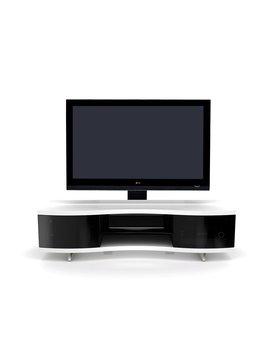BDI Ola 8137 SW, TV- Cabinet, Satin White