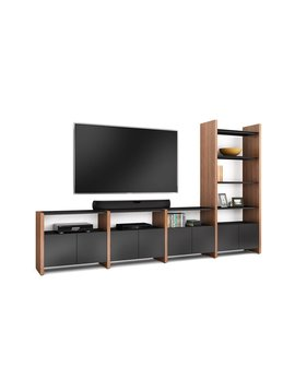 BDI Semblance 5454-GH, Four-section home theater system