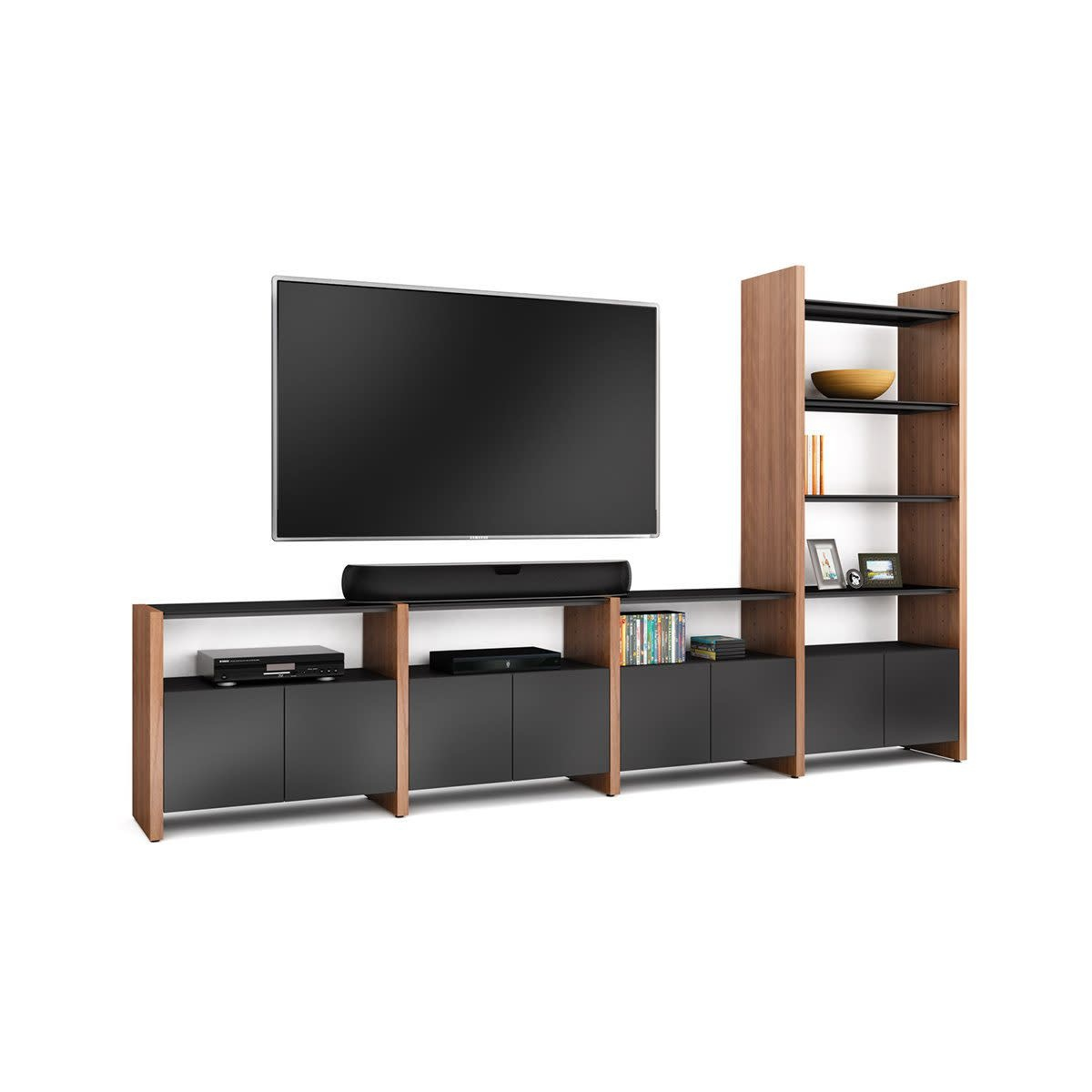 BDI Semblance 5454-GH Four-section Home Theater System