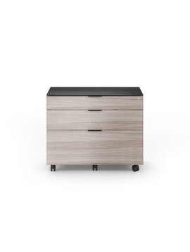 BDI Sigma 6916 Two-drawer Locking Lateral File Cabinet