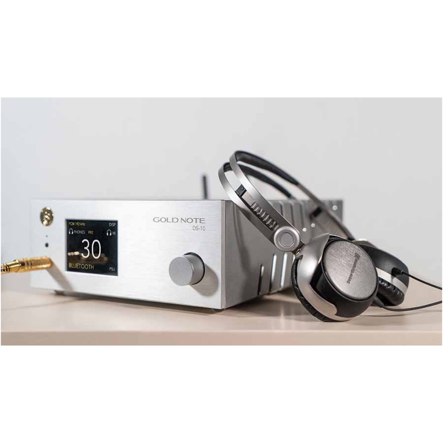 Gold Note DS-10 D/A Converter, Streamer & Headphone Amp