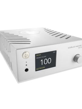 Gold Note DS-10 D/A Converter, Streamer & Headphone Amp