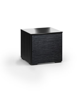 Salamander Designs Chicago 217, AV Cabinet, Black Oak