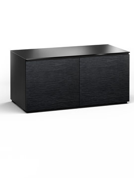 Salamander Designs Chicago 221, AV Cabinet, Black Oak