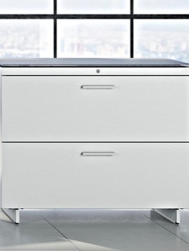 BDI Centro 6416, Two-drawer lateral file cabinet