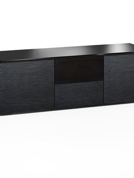 Salamander Designs Chicago 236, AV Cabinet, Black Oak