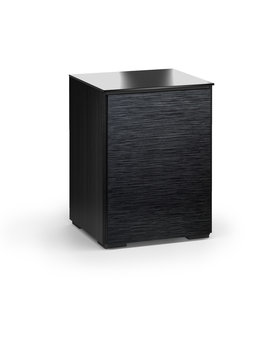 Salamander Designs Chicago 317, AV Cabinet, Black Oak