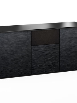 Salamander Designs Chicago 336, AV Cabinet, Black Oak
