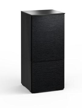 Salamander Designs Chicago 517, AV Cabinet, Black Oak