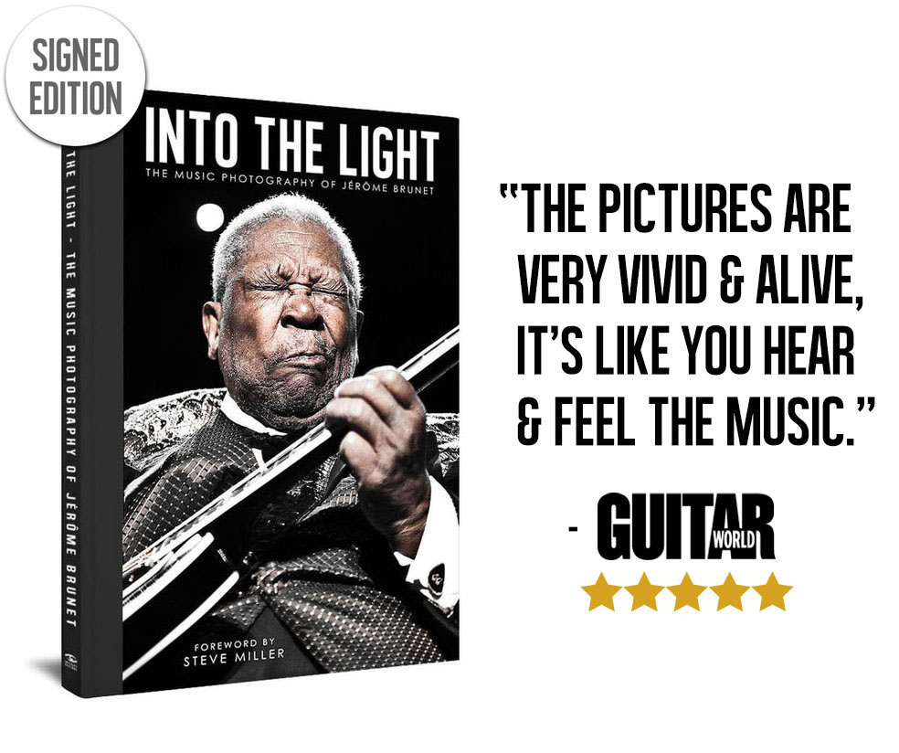 Into the Light: The Photography of Jérôme Brunet - Hardcover Book Signed Edition