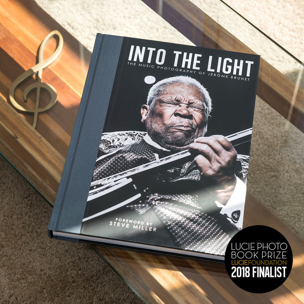 Jerome Brunet Into the Light: The Photography of Jérôme Brunet - Hardcover Book Signed Edition