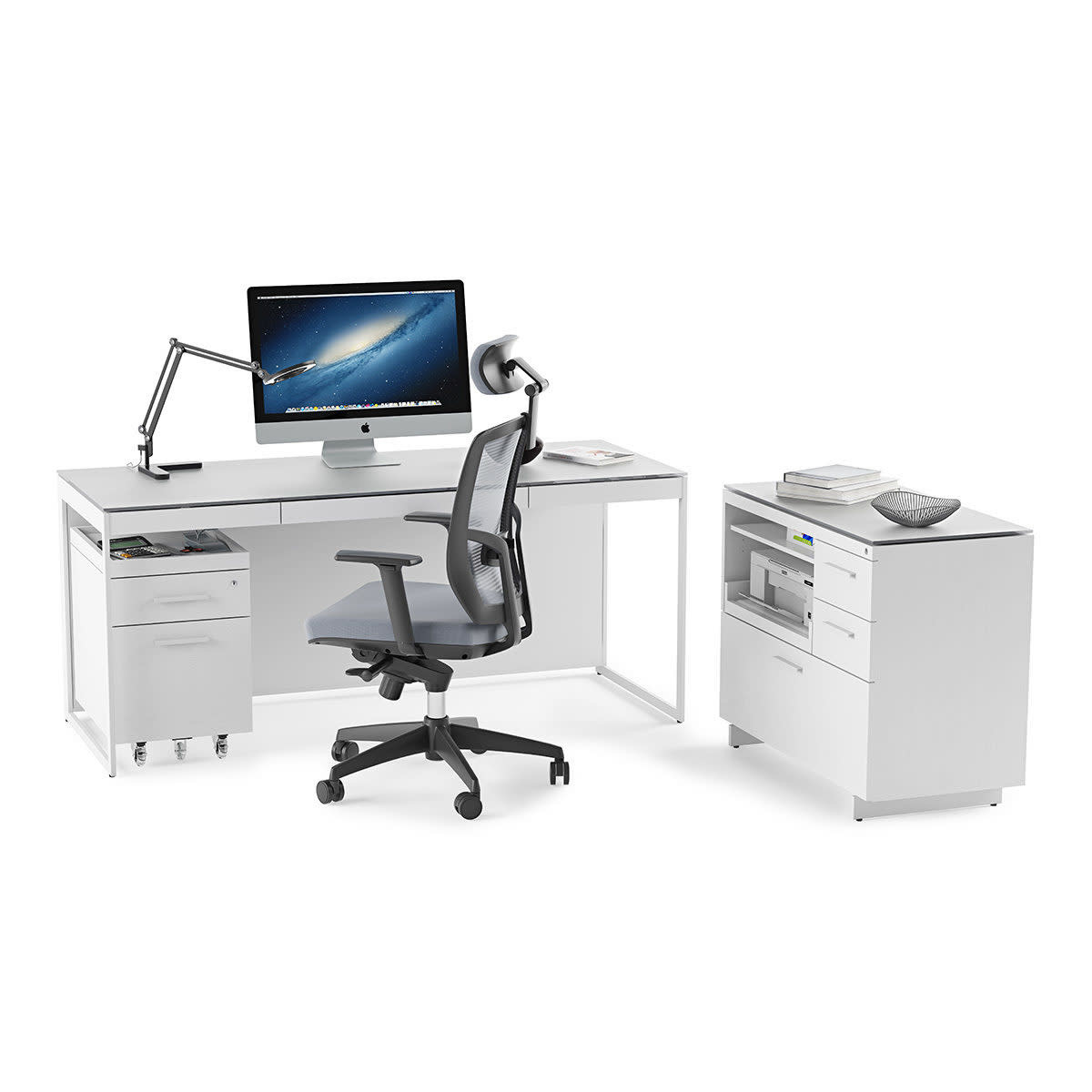 BDI Centro 6417 Multifunction Office Cabinet