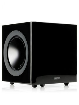 Monitor Audio Radius R-380 200 Watt Subwoofer, Black Lacquer