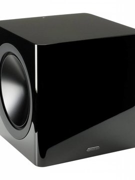 Monitor Audio Radius R-390 220 Watt Subwoofer, Black Lacquer