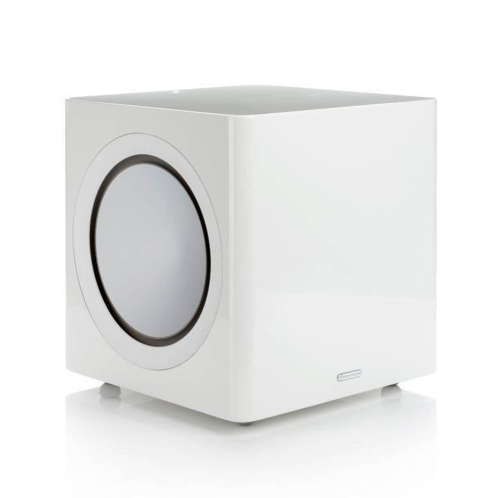 Monitor Audio Radius R-390 220 Watt Subwoofer, White Lacquer