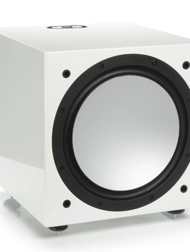 Monitor Audio Silver W-12 Subwoofer, Piano White Lacquer