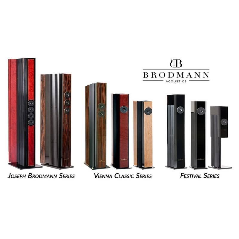 Brodmann Acoustics VC2, Bubinga