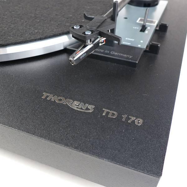 Thorens TD 170-1, Black
