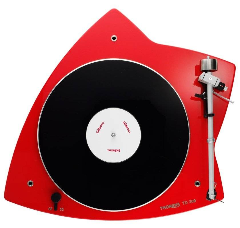 Thorens TD 209, Gloss Red