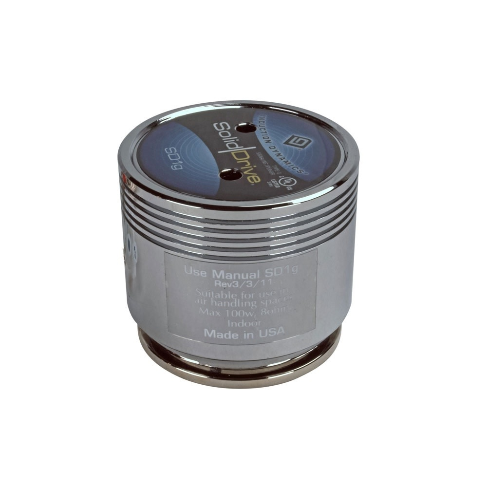 Solid Drive SD1G inductive speaker for glass & none-porous surfaces