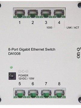 ONQ Legrand 8-port Gigabit Ethernet Switch for Smart Box