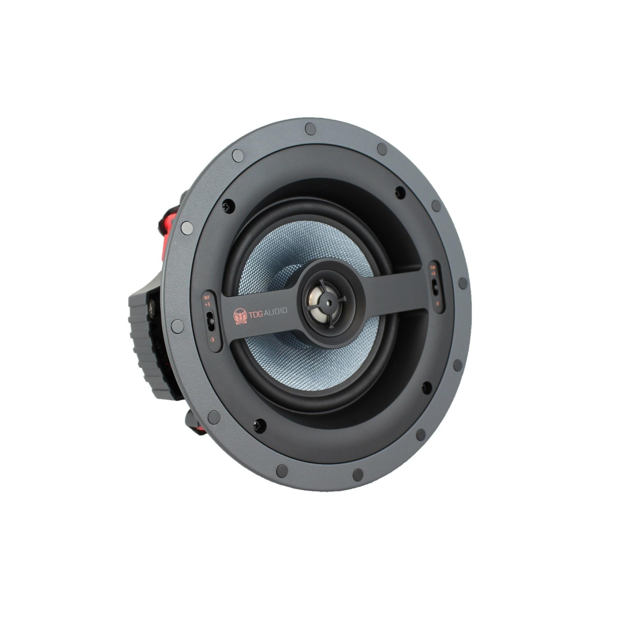 """TDG Audio NFC63 6.5"""" 2-way In-ceiling speaker with Kevlar Trueform Tweeter"""