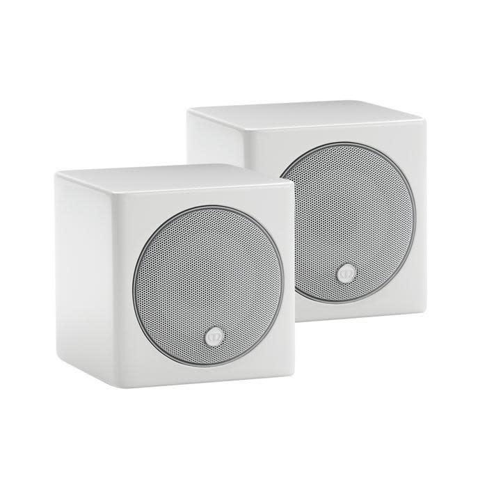 Monitor Audio Radius R45 Satellite Speakers Piano White Lacquer