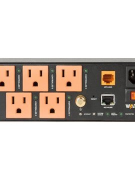 Wattbox IP Power Conditioner with OvrC Home | 5 Controlled Outlets, WB-300VB-IP-5
