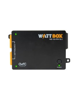 Wattbox 150 Series IP Power Controller, 1 Controlled Bank, 2 Outlets