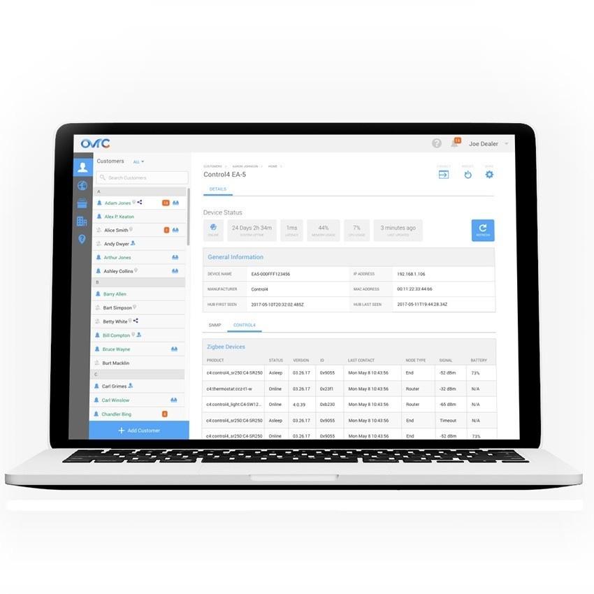 Wattbox OvrC 300 Pro Lifetime License and Gigabit Hub
