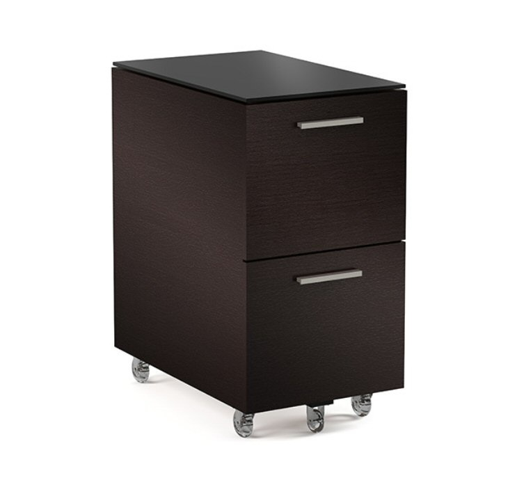 BDI Sequel 6005 Two Drawer Mobile File Pedestal