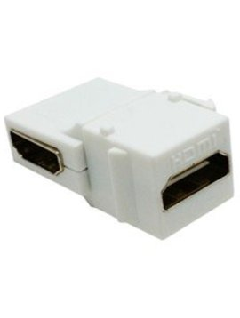 Calrad HDMI Keystone Right Angle Feed-thru, 1080P