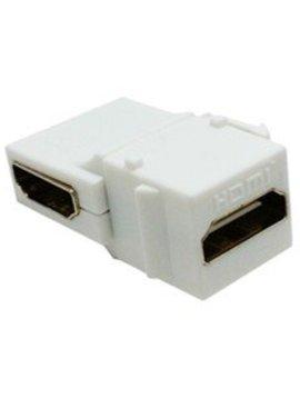 Calrad HDMI Keystone Right Angle Feed-thru, 1080P