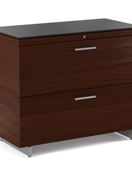 BDI Sequel 6016 Two Drawer Locking Lateral File Cabinet