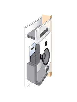 "Dynamat En-Wall Kit Enclosure for 4"" Stud Walls, Model # 50504"