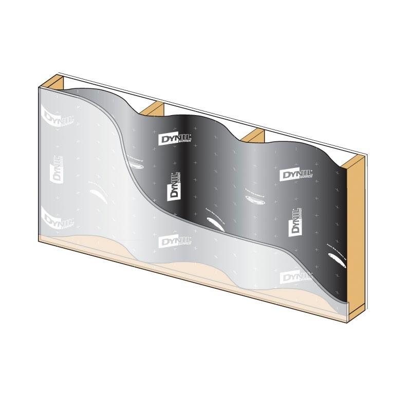 """Dynamat Dynil Sound Barrier 54"""" x 25' Model #50100"""