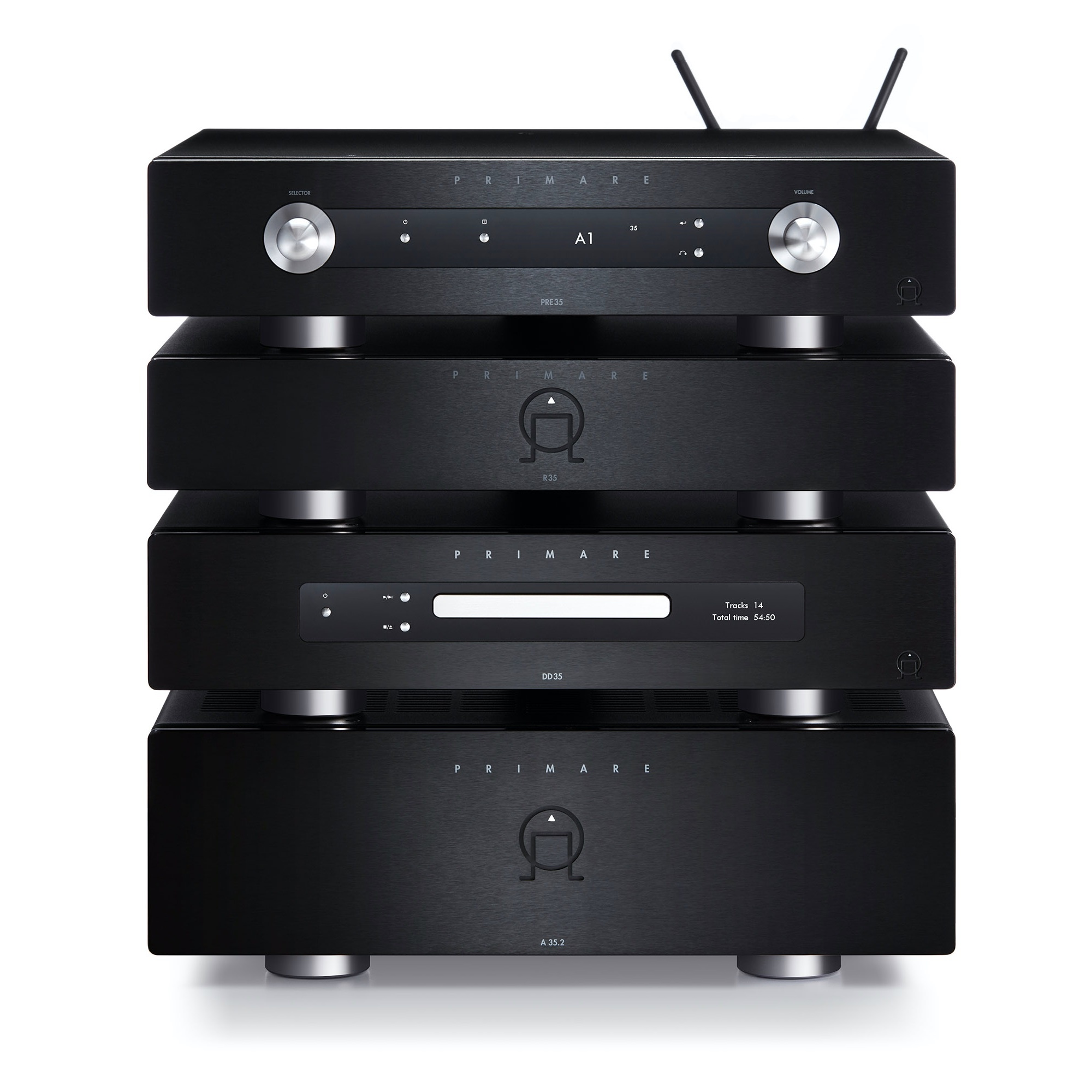 Primare A35.2 Balanced Stereo Amplifier with Prisma Control & Connectivity