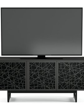 BDI Elements 8777-ME Triple Media Cabinet