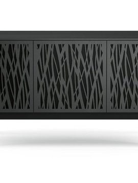 BDI Elements 8777-CO Triple Media Cabinet
