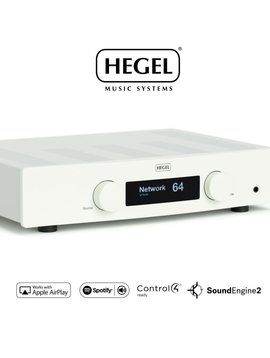 Hegel H120 Integrated Amplifier, Airplay/DLNA Stream