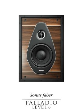 Sonus Faber Palladio In-Wall Speakers, Level 6
