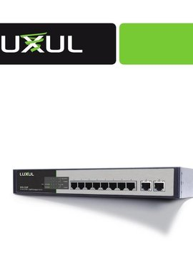 Luxul XMS-1010P 10-Port Gigabit Managed POE+ Switch