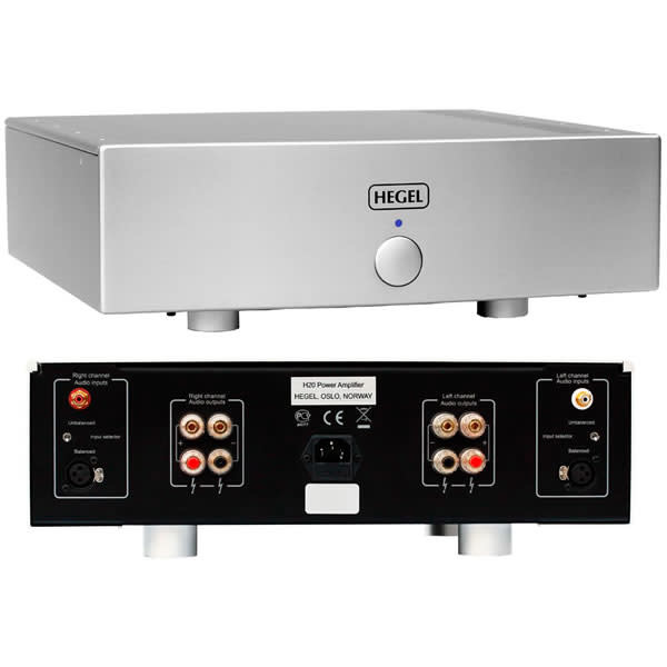 Hegel H20 Stereo Power Amplifier